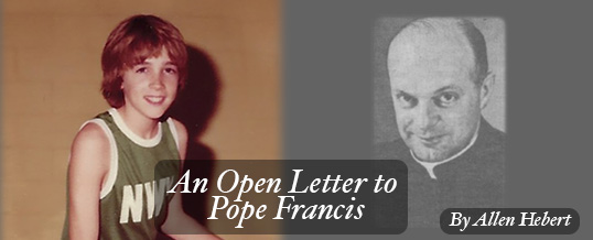 An Open Letter to Pope Francis