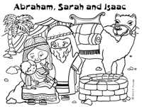 Abraham Sarah and Isaac