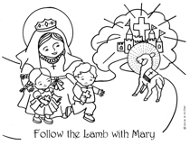 Follow the Lamb with Mary